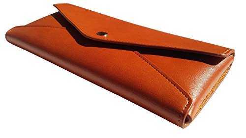 plumier en cuir trousse pochette en cuir marron vintage cadeau de no l. Black Bedroom Furniture Sets. Home Design Ideas