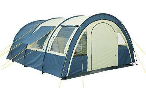 campfeuer tunnelzelt f r 4 personen mit 5000 mm. Black Bedroom Furniture Sets. Home Design Ideas