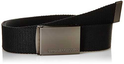 88c3599aaa0fed Urban Classics TB305 Unisex Gürtel Canvas Belt für Herren und Damen,  stufenlos verstellbarer: Gürtel: Planet Shopping Deutschland