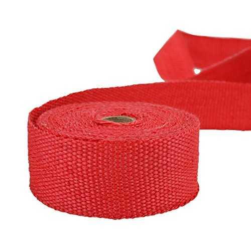 kkmoon 10m bande isolant thermique collecteur echappement haute temp rature. Black Bedroom Furniture Sets. Home Design Ideas