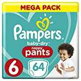 Pampers baby dry pants couches culottes taille 6 15 kg mega pack - Couches culottes pampers ...