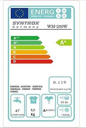 syntrox germany a 5 2 kg machine laver avec pompe et essoreuse camping. Black Bedroom Furniture Sets. Home Design Ideas