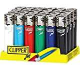 Clipper 4 encendedores de Gas de tamaño Regular, Jet Pack of 4