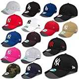 New Era 9forty Strapback Cap MLB New York Yankees plusieurs couleurs - #2504, OSFA (One Size fits all)