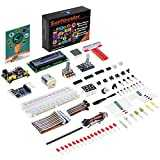 SunFounder Raspberry Pi Starter Kit Project for RPi 3B+ 3B 2B B+ A+ Zero Including GPIO Breakout Board Breadboard LCD DC Motor LED RGB Dot Matrix (mit Deutscher Anleitung) (MEHRWEG)