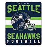 Seattle Seahawks Offizielle NFL Decke, Fleecedecke in 127 x 152 cm