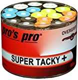 60 Overgrip Super Tacky Tape coloré tennis grips