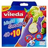 Vileda 50 Gants Jetables Nitriles Multi Sensitive Taille M/L
