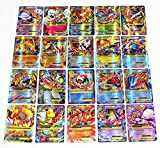 Pokemon TCG EX - 60pcs Large Mega Ex Card Strongest Combination Best Gift