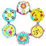 Start Kids Tambourine Children Musical Instrument Jingle Percussion Toy HandBell Gift