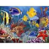 Cobble Hill Wide-eyed Fishies 400 Piece Family Puzzle