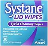 Systane Lid Wipes Eyelid Cleansing Wipes 30 Each (Pack of 2)