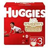 Huggies Little Snugglers Baby Diapers, Size 3, 156 Count (Packaging May Vary)