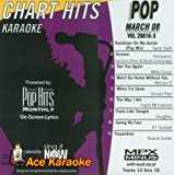 Pop Hits Monthly Pop Karaoke Music CDG - March 2008