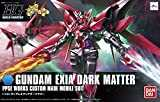 Bandai Hobby HGBF Gundam Exia Dark Matter Model Kit (1/144 Scale)