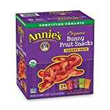 Annie´s Organic Bunny Fruit Snacks, Variety Pack, 24 Pouches, 0.8 oz Each - Packaging May Vary