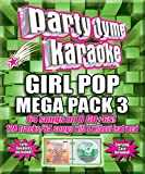 Party Tyme Karaoke - Girl Pop Mega Pack 3 [8 CD][64+64-Song Party Pack]