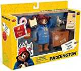 Paddington Bear Teddy Bear Paddington Movie Toys & Suitcase 8 Pc Set