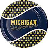 University of Michigan Paper Plates, 24 ct