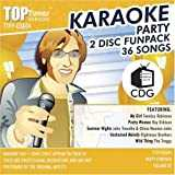 Top Tunes Party FunPack: Karaoke CDG TTFP-3&4 v2 Smokey Robinson, Roy Orbison and The Troggs