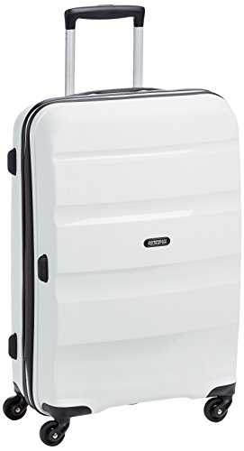 American Tourister Bon Air Spinner Suitcase, 66 cm, 58 L, Blanc