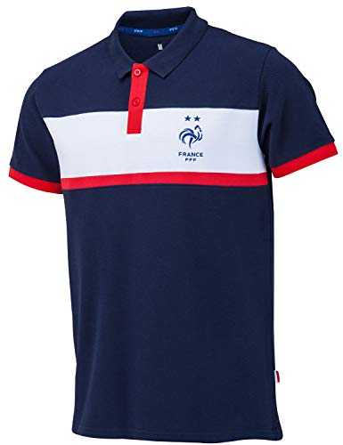 Equipe de FRANCE de football Polo FFF - Collection Officielle Taille Homme XXL