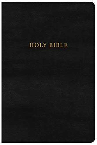 Holy Bible: New King James Version, Black LeatherTouch, Personal Size, Classic Edition, Reference
