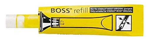 Stabilo Boss Original Pack de 20 Surligneurs Jaune Lot de 20