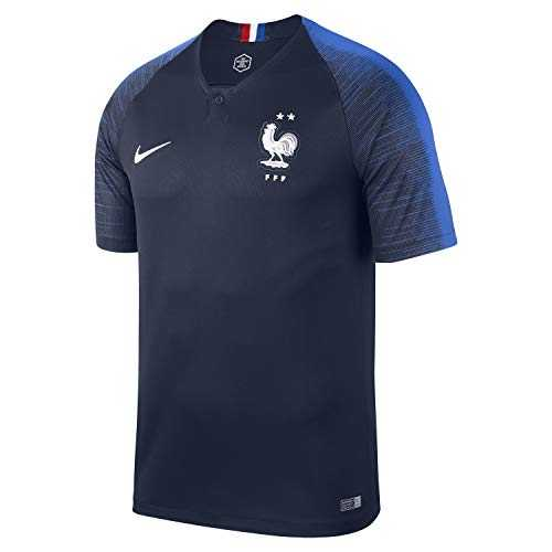 Nike FFF M NK BRT stad JSY Maillot SS HM – , Homme, Multicolore (Obsidian/Hyper Cobalt/White)