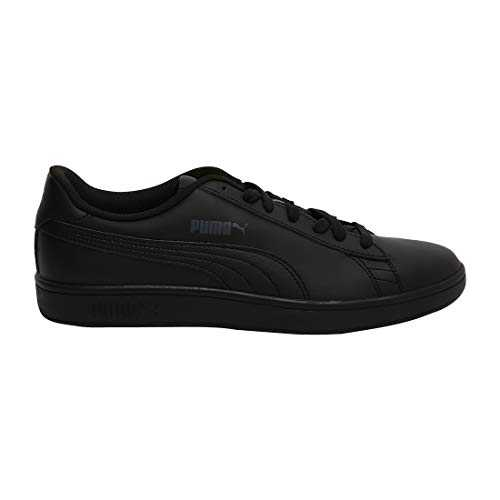Puma Smash V2 Leather, Baskets de Cross mixte adulte - Noir (Puma Black), 42 EU (8 UK)