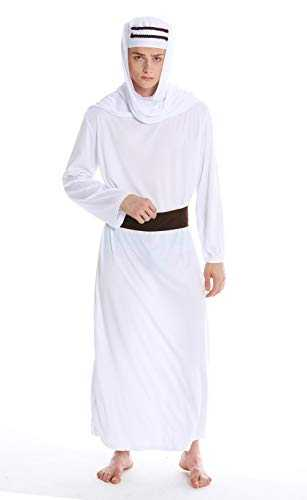 dressmeup Dress ME UP - M-0154-M Costume Homme Carnaval Halloween Scheik Arabe Lawrence d'arabie sindbad calife M/L