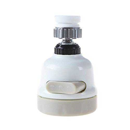 GOUPPER Faucet Booster Shower 3 Mode Faucet Filter Nozzle for Kitchen Bathroom Tap 360° Rotary Tap Booster Shower