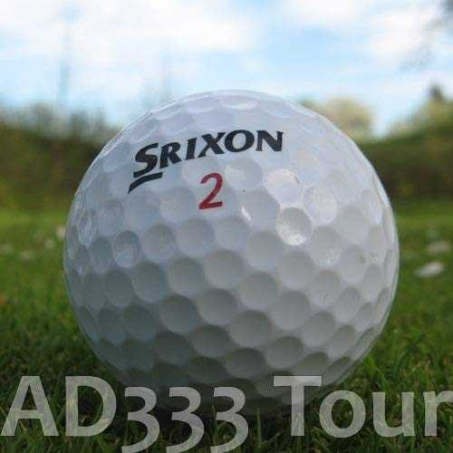 Easy Lakeballs SRIXON AD333 Lot de 100 balles de Golf AAAA/AAA
