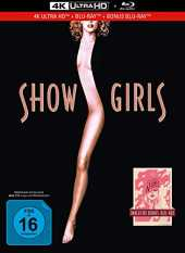 Showgirls - You Don´t Nomi - 3-Disc Limited Collector´s Edition im Mediabook (4K Ultra HD/UHD) (+ Blu-Ray + Bonus-Blu-ray)