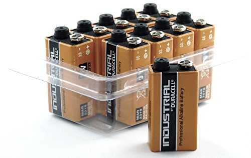 Duracell Industrial 9V E-Block/MN1604/6LR61 Lot de 10
