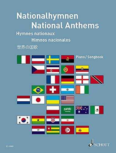 National Anthems Piano/Vocal Book