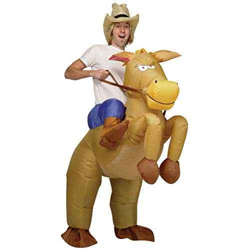 AirSuits Gonflable Cheval et Cowboy Costume