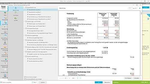 Tax 2021 (für Steuerjahr 2020: Standard Verpackung ...