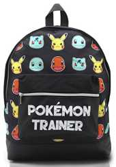 Cartable Pokemon Primaire Sac a Dos Enfant Garcon Fille College Gymnase avec Let's Go Pikachu Bulbasaur Charmander