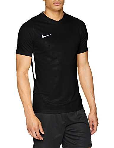 Nike Tiempo Premier Jersey SS Maillot Homme, Noir/Blanc, FR : M (Taille Fabricant : M)