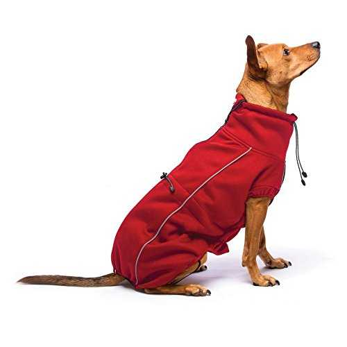 Dog Gone Smart Olympia Soft Shell Manteau Rouge 30,5 cm