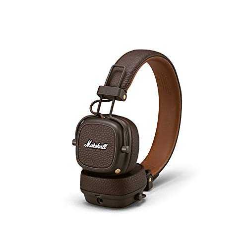 Marshall Major III Casque Audio Bluetooth - Marron