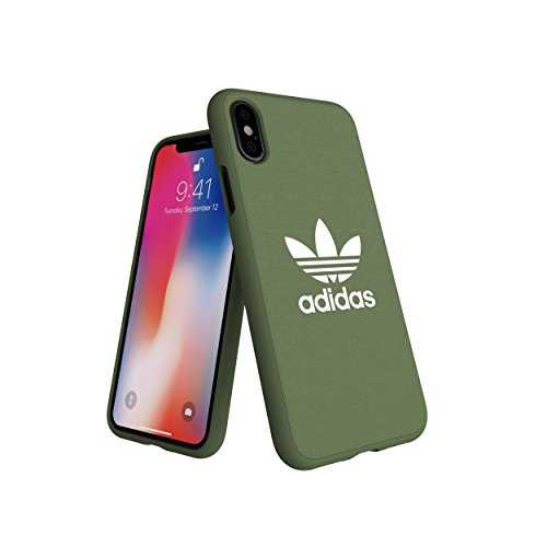 adidas Coque Originals Moulded Vert Trace Green pour iPhone X XS