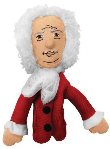 Unemployed Philosophers Guild Isaac Newton Finger Puppet and Refrigerator Magnet - for Kids and Adults