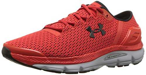 Under Armour Speedform Intake 2, Chaussures de Running Compétition Homme, Rouge (Radio Red/Overcast Gray/Black), 42.5 EU