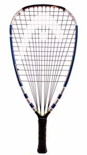 "Head Liquid Metal 190 3 5/8"" Grip Racquetball Racquet by Head"