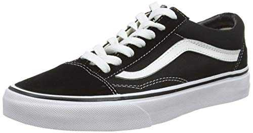 Vans U Old Skool, Basses Mixte adulte - Noir (Black/White), 40 EU