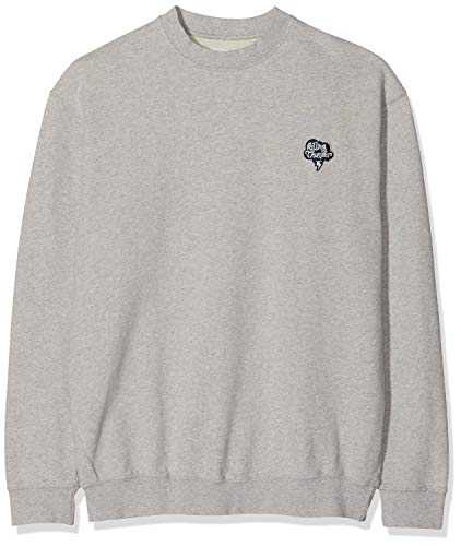 Libertine Libertine Society Thunder Sweat-Shirt À Capuche Sport, Gris (Grey Melange 11), Medium Homme