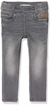 NAME IT Mädchen NITTONJA Skinny Legging DNM NMT NOOS Jeans, Grau (Light Grey Denim), 122