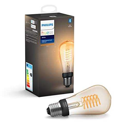 Philips Hue White E27 Ampoule LED Smart unique ST64 - 550lm Piston Bluetooth